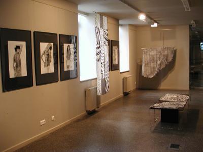 2005 Áthatások, önálló kiállítás, Ponton Galéria