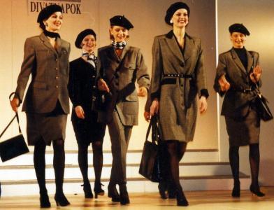 1995-97 Márkakollekciók szakvásári bemutatói. (Kanizsa Ruhaipari Szövetkezet)