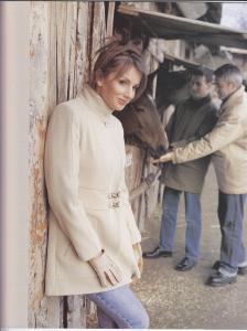 2001-2005 Elegant Mode Rt. számára kabáttervezés /Fotó: Rákoskerti László
