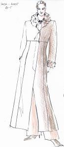 2001-2005 Elegant Mode Rt. számára kabáttervezés
